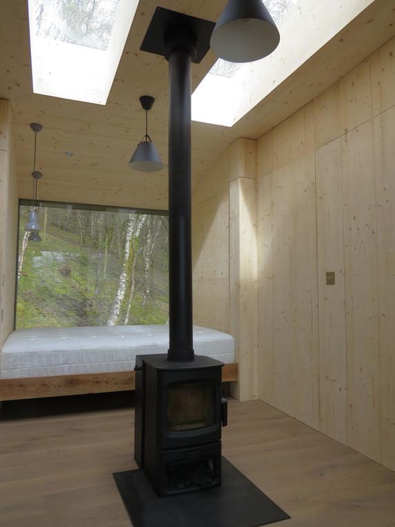 Tree Hoose Interior 3 -Bed Space