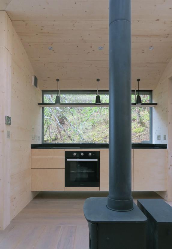Tree Hoose Interior 2 - Kitchen