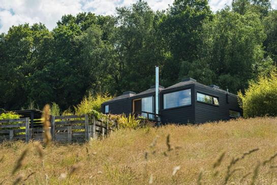 Modular Cabin - Pyramid Bothy - Red Kite exterior 4