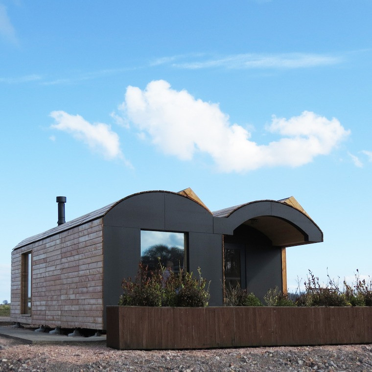 St Andrews University  Off Grid Office, exterior