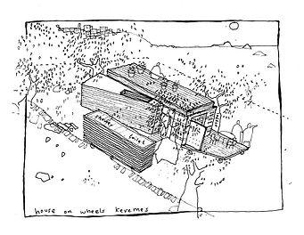 House on Wheels Preliminary design sketch