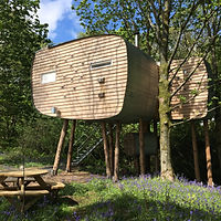 Treehouse for two at Brockloch Eco Retreats