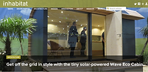 Inhabitat feature our tiny solar-powered Eco Cabin