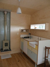 Brockloch Treehouse Hobbit stove