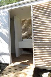 House on Wheels Shower room
