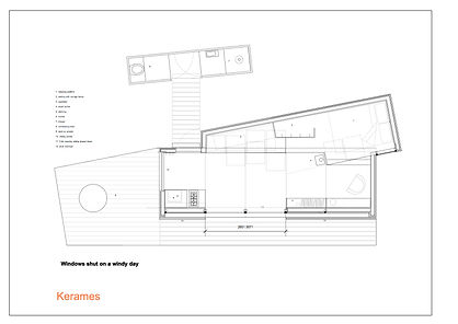 House on Wheels Eco Retreat - Plan