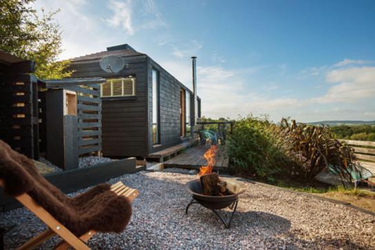 Modular Cabin - Pyramid Bothy - Red Kite exterior 3