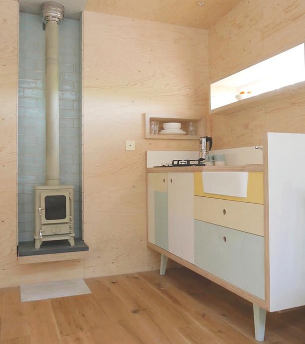 Brockloch Treehouse, kitchen