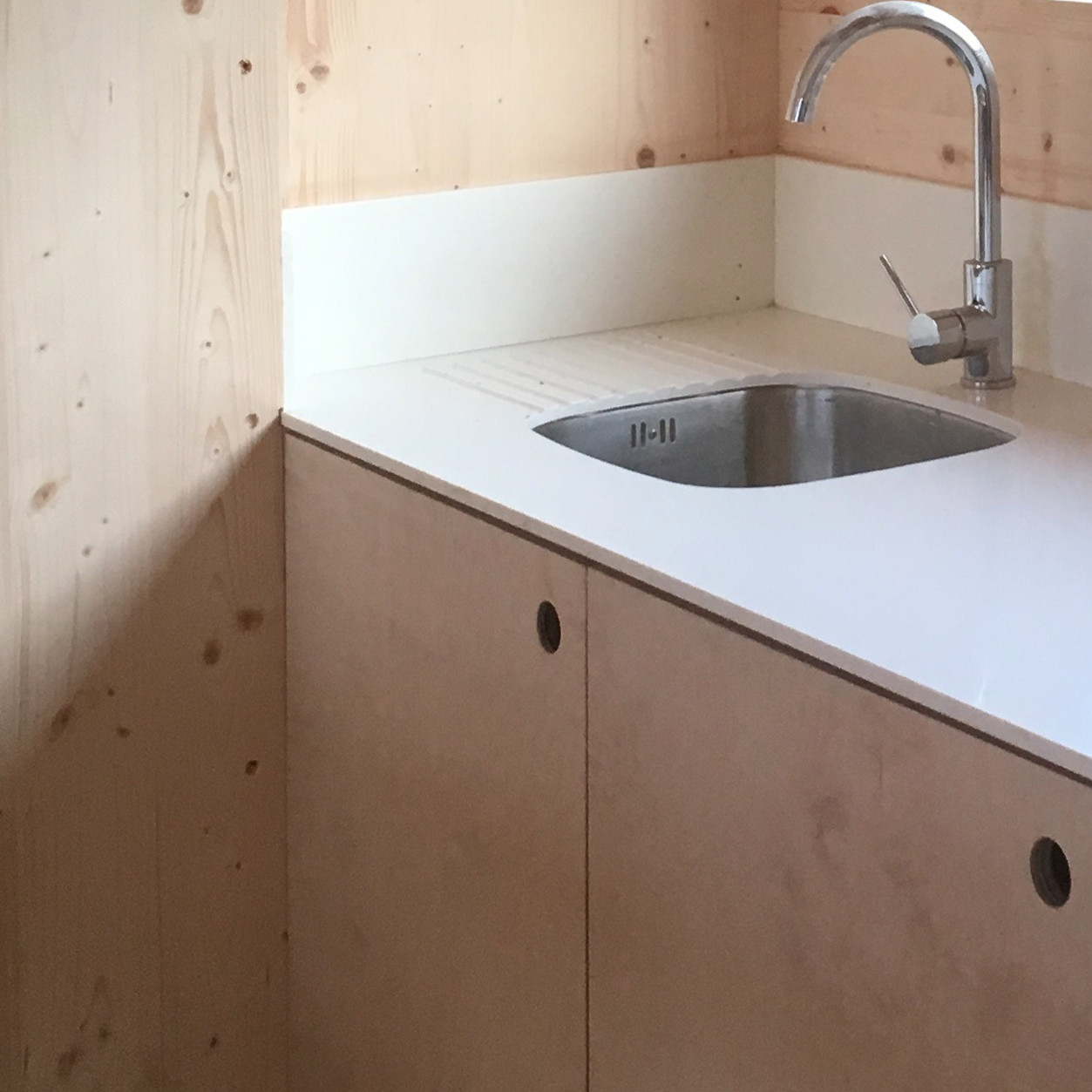 Cala Fearnahd Step Down House  kitchen detail
