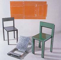 Oritetsu Folding Furniture designed by Sam Booth