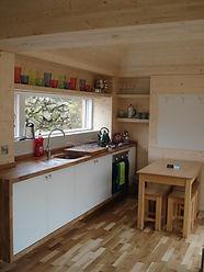 Loch Ken Eco Bothies Kitchen
