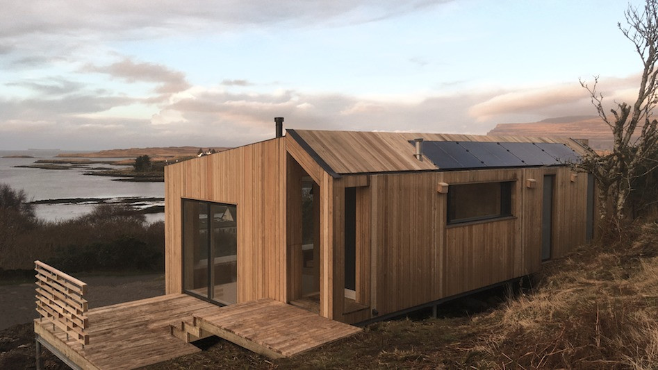 Step Down Cabin- Mull exterior