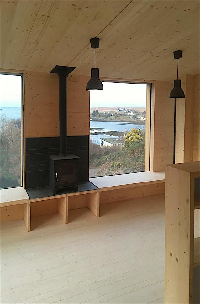 Cala Fearnadh Step Down House Living Room