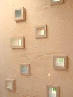 Brockloch Treehouse custom windows