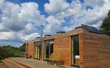 Timber Eco Bothies -off grid, modular eco pods designed and built by Echo Living