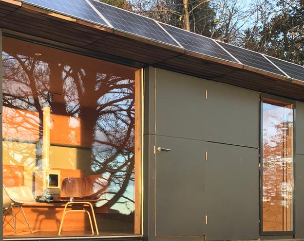 wave cabin exterior