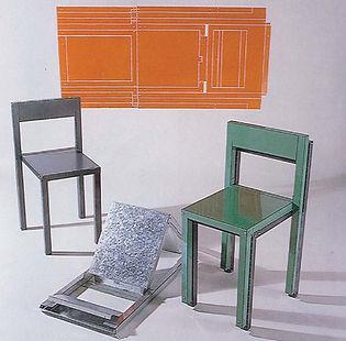 Oritetsu folding furniture, designed by Sam Booth