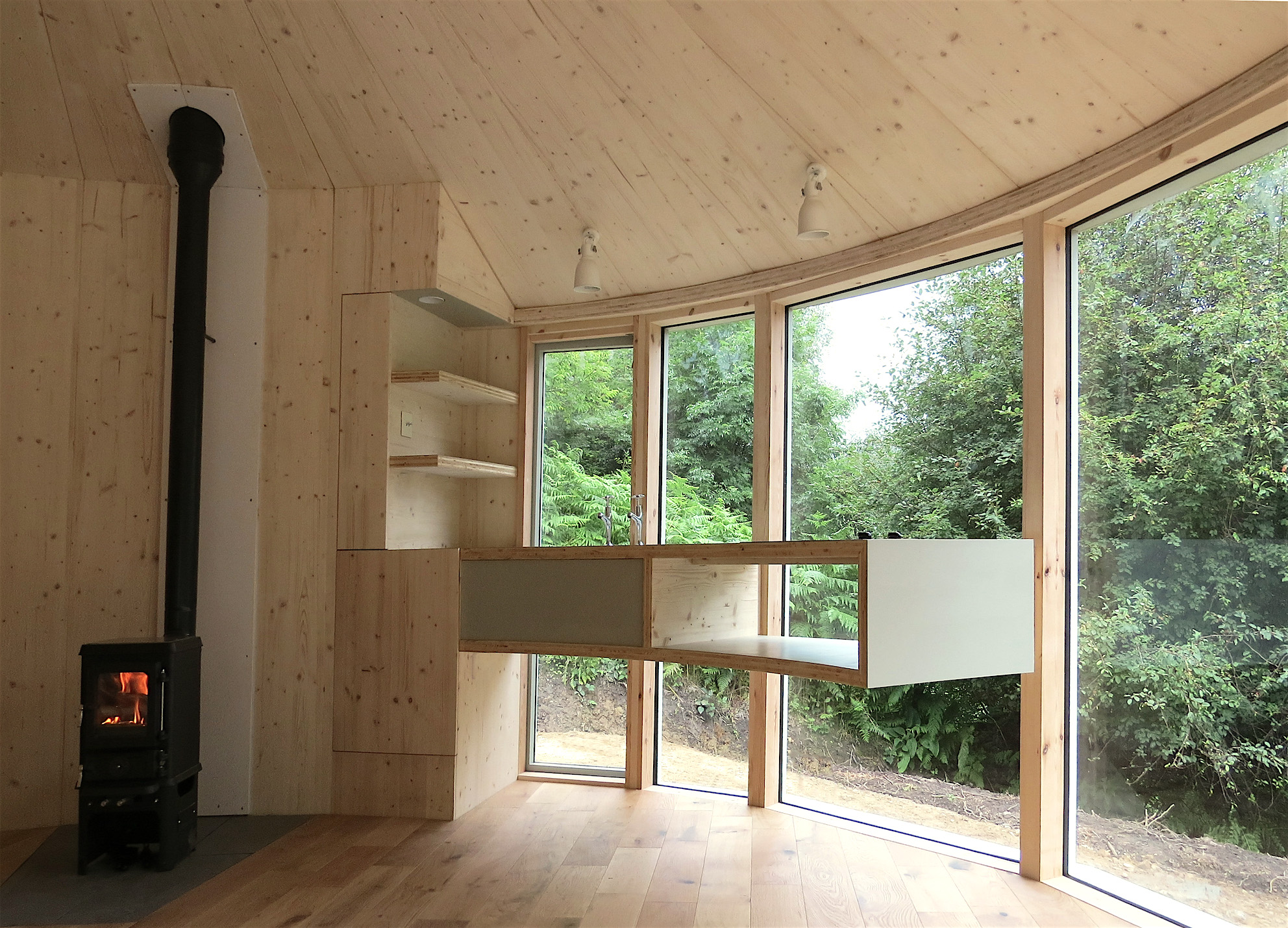 Caberfeidh Yurt Interior