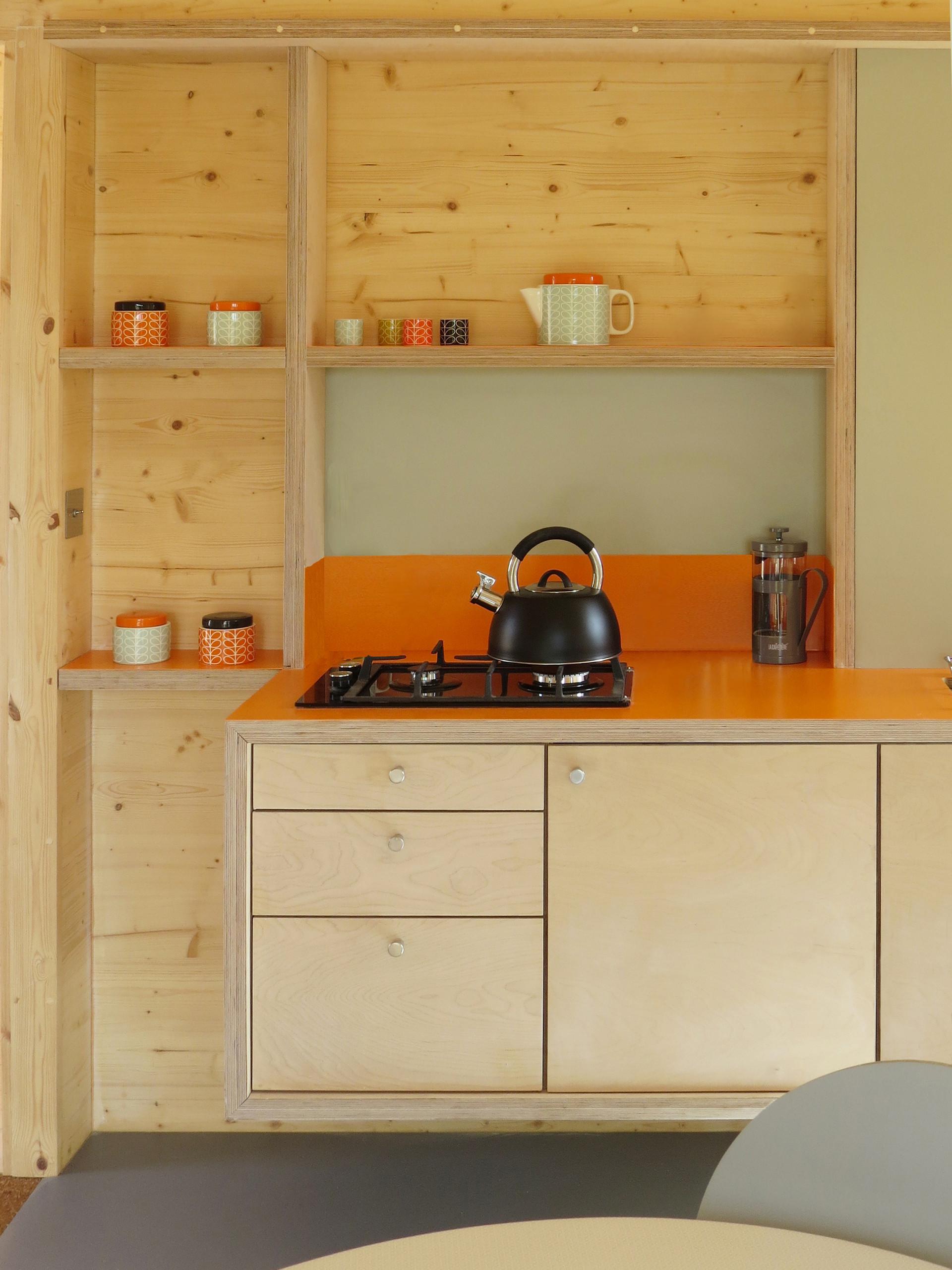 Artist studio, kitchen