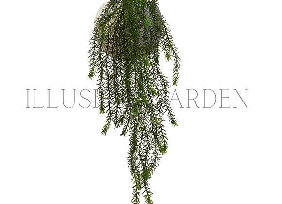 Planta artificial  Springeri Large con maceta redonda