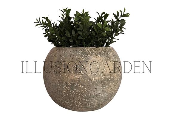 Planta artificial Boj en maceta redonda 20x16