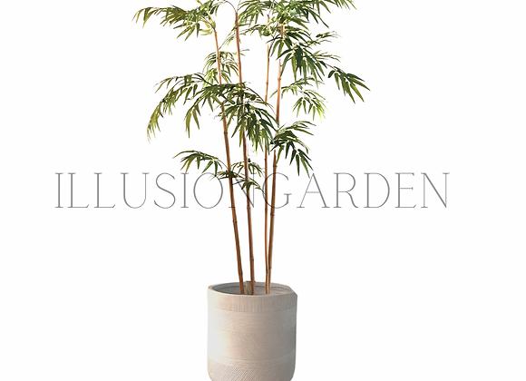 Planta artificial Bambú  1.90 mt de altura con macea