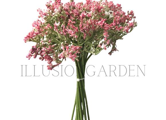 Flor artificial Lluvia de Novia rosa