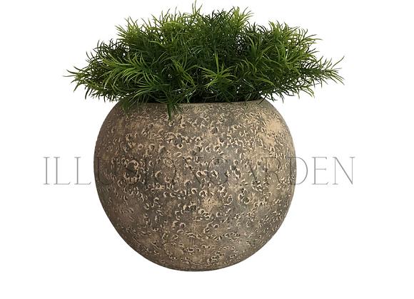 Planta artificial Springeri en maceta redonda 20x16 cm