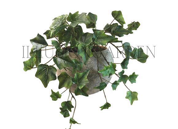 Planta artificial Colgante Yedra pequeña en maceta redonda