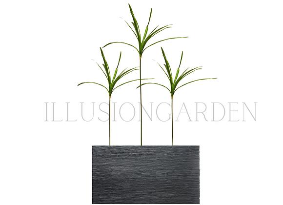 Planta artificial Papyrus en maceta 80 x20x40 cm