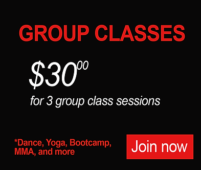 $30 for Group Class Sessions