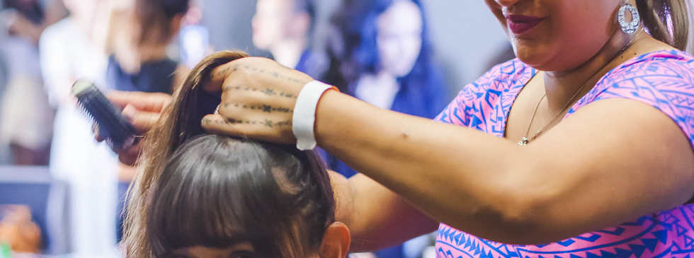 MUA & Hair backstage