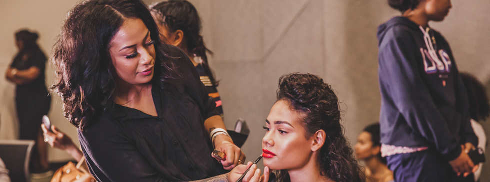 MUA and Hair backstage