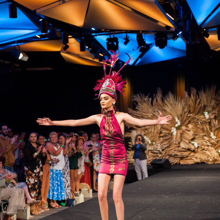Funk 'n' Soul's Tia Semi gets standing ovation at pacific fashion festival
