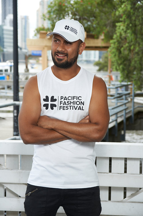 Mens Muscle Tee - White