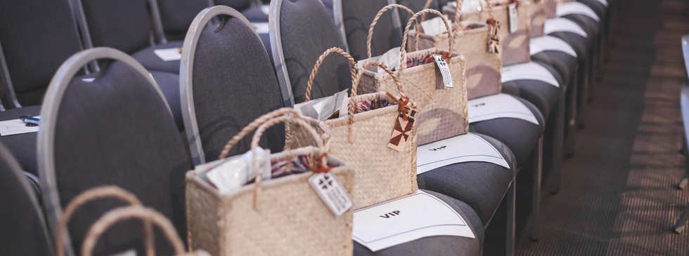 VIP Bags waiting for VIP guests