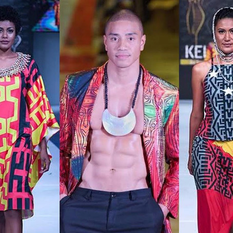 Pacific Fashion Festival is on this weekend on Saturday