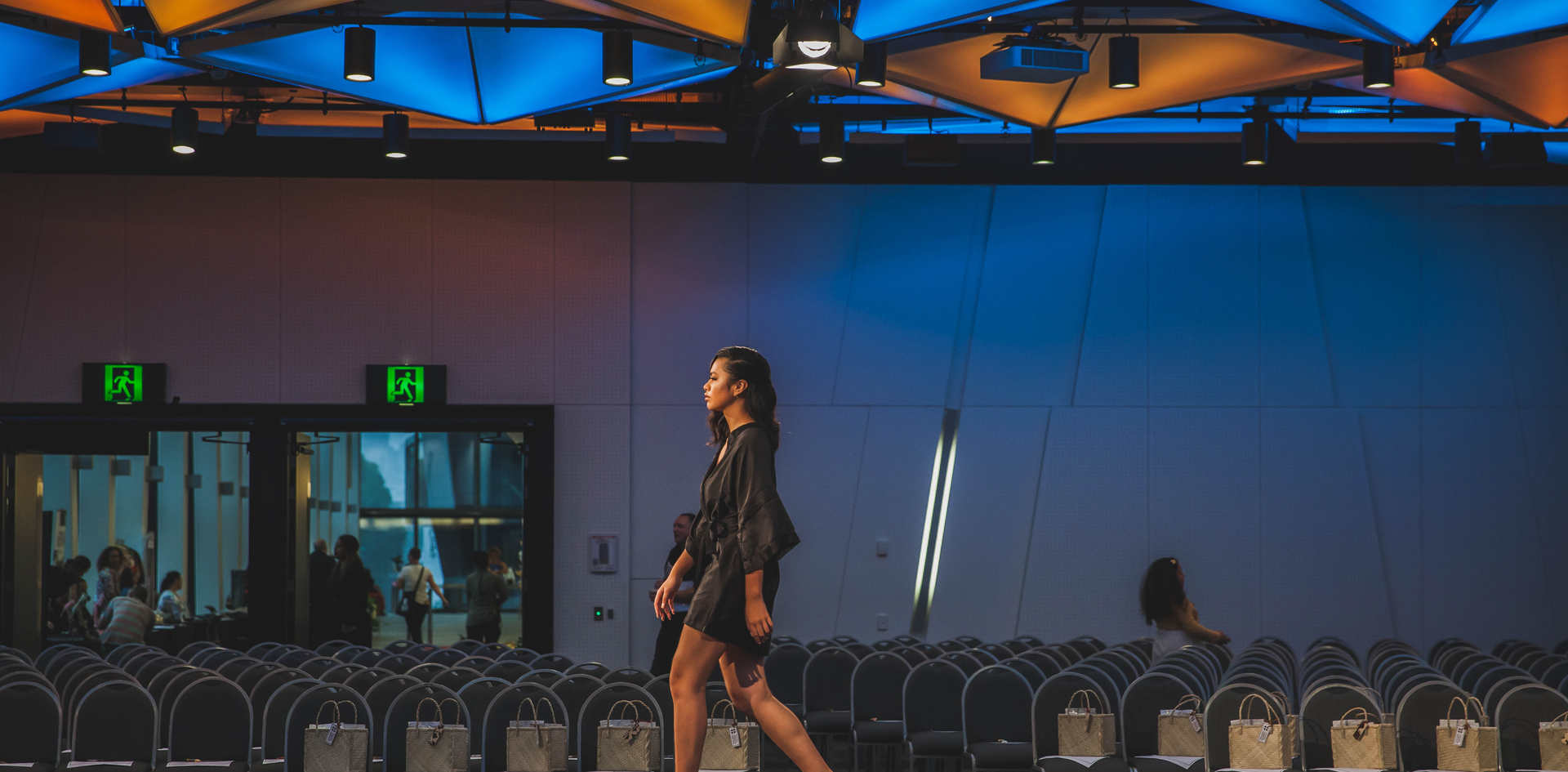 Testing out the runway - Faith Ane