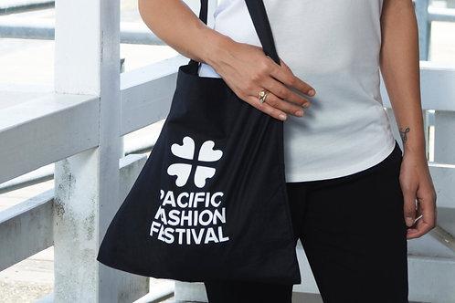Black Tote Bag with PFF Logo