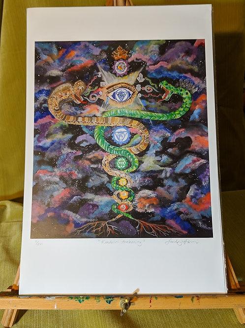 """""""Kundalini Awakening"""" 12 x 18 Art Print"""