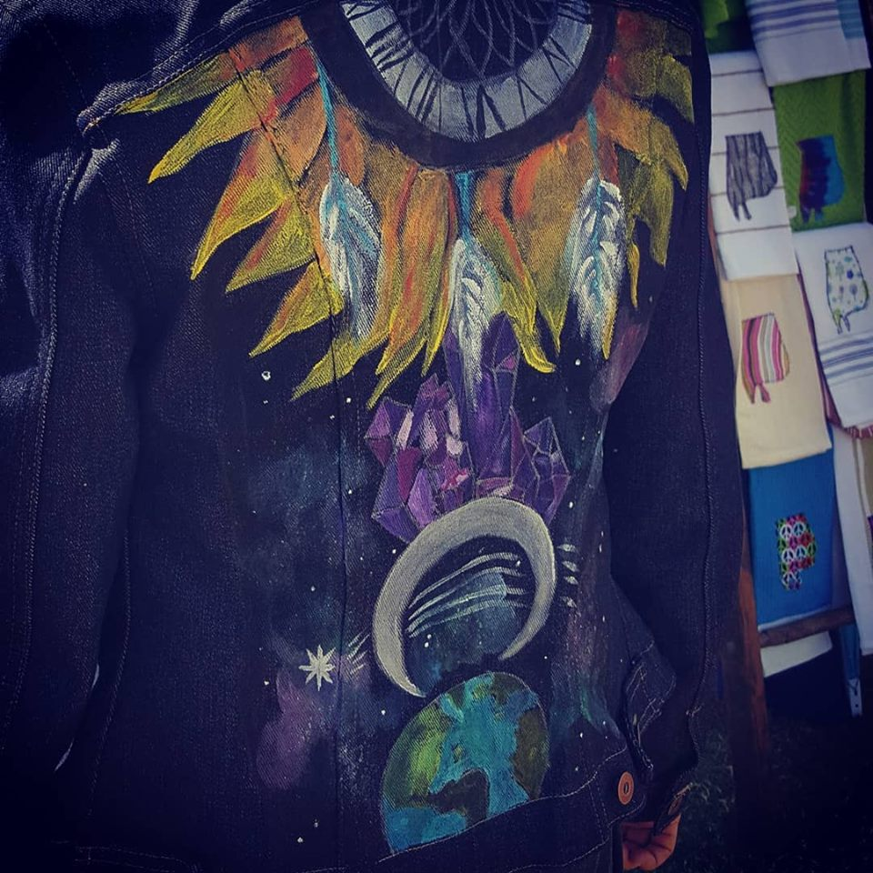 Sunflower Universe Jacket