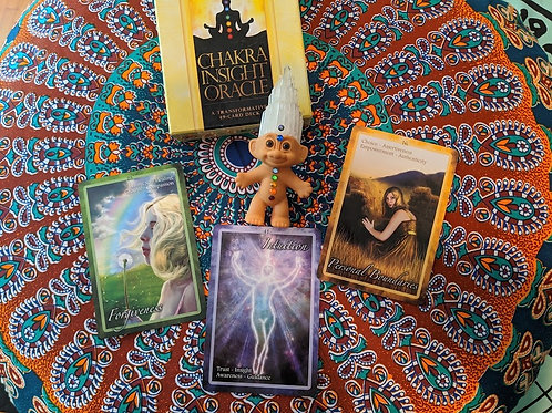 Chakra Reading and Clearing