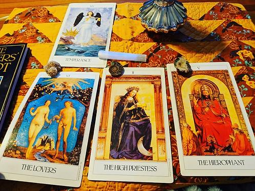 Tarot Card Reading: The Lovers