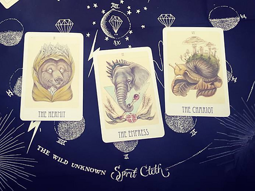 Tarot Card Reading: Wooden Tarot