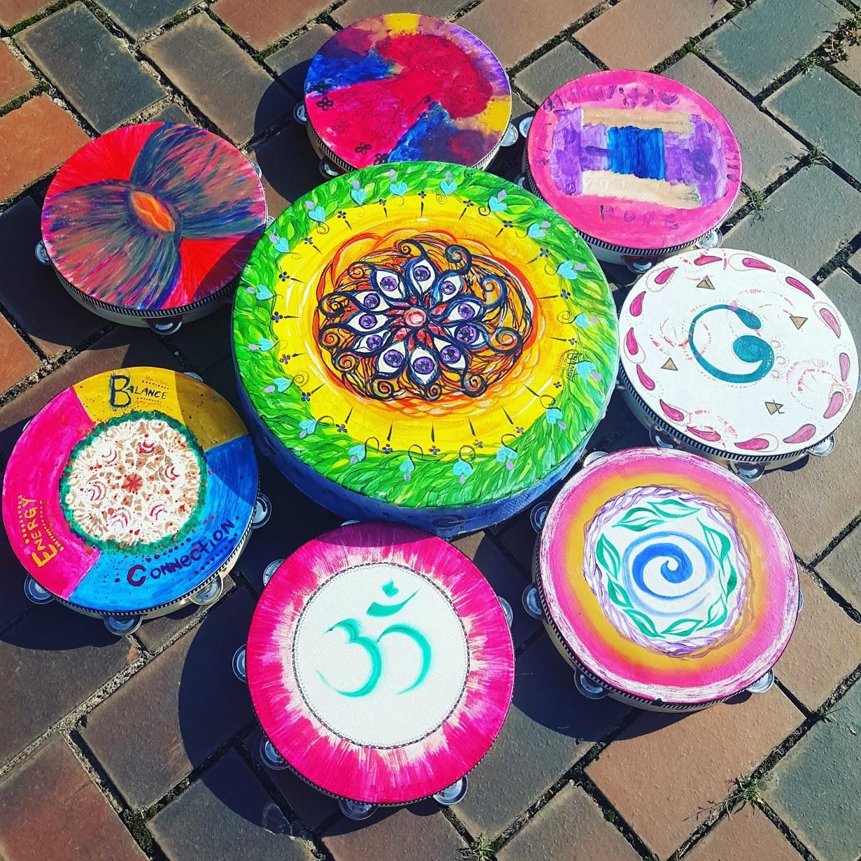 Symbols, Art, & Vibrational Drums