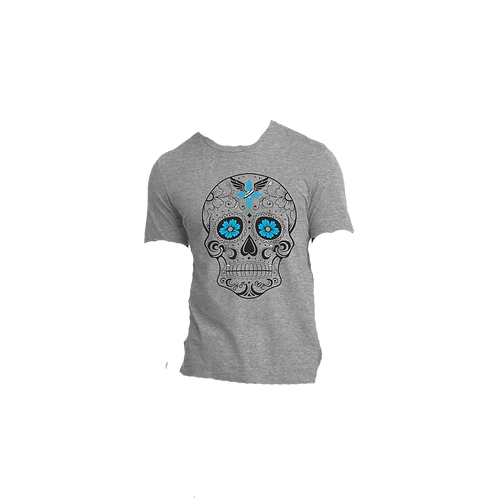 Mens Perfect Tri ® Crew Tee - NM Sol Skull Shirt