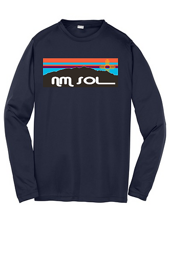 Youth Sport-Tek ® Long Sleeve PosiCharge ® Competitor™ Tee