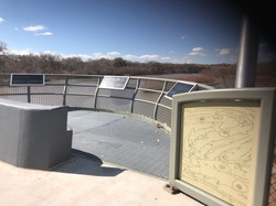 Central Bridge Viewing Area by Pace