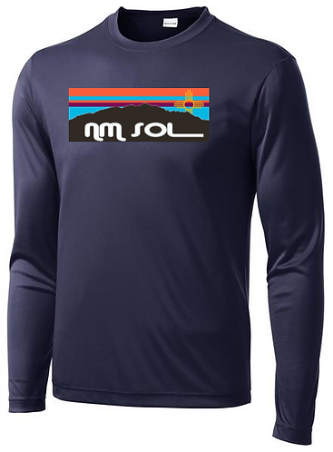 Adult Sport-Tek Long Sleeve PosiCharge ® Competitor™ Tee - NM Sol