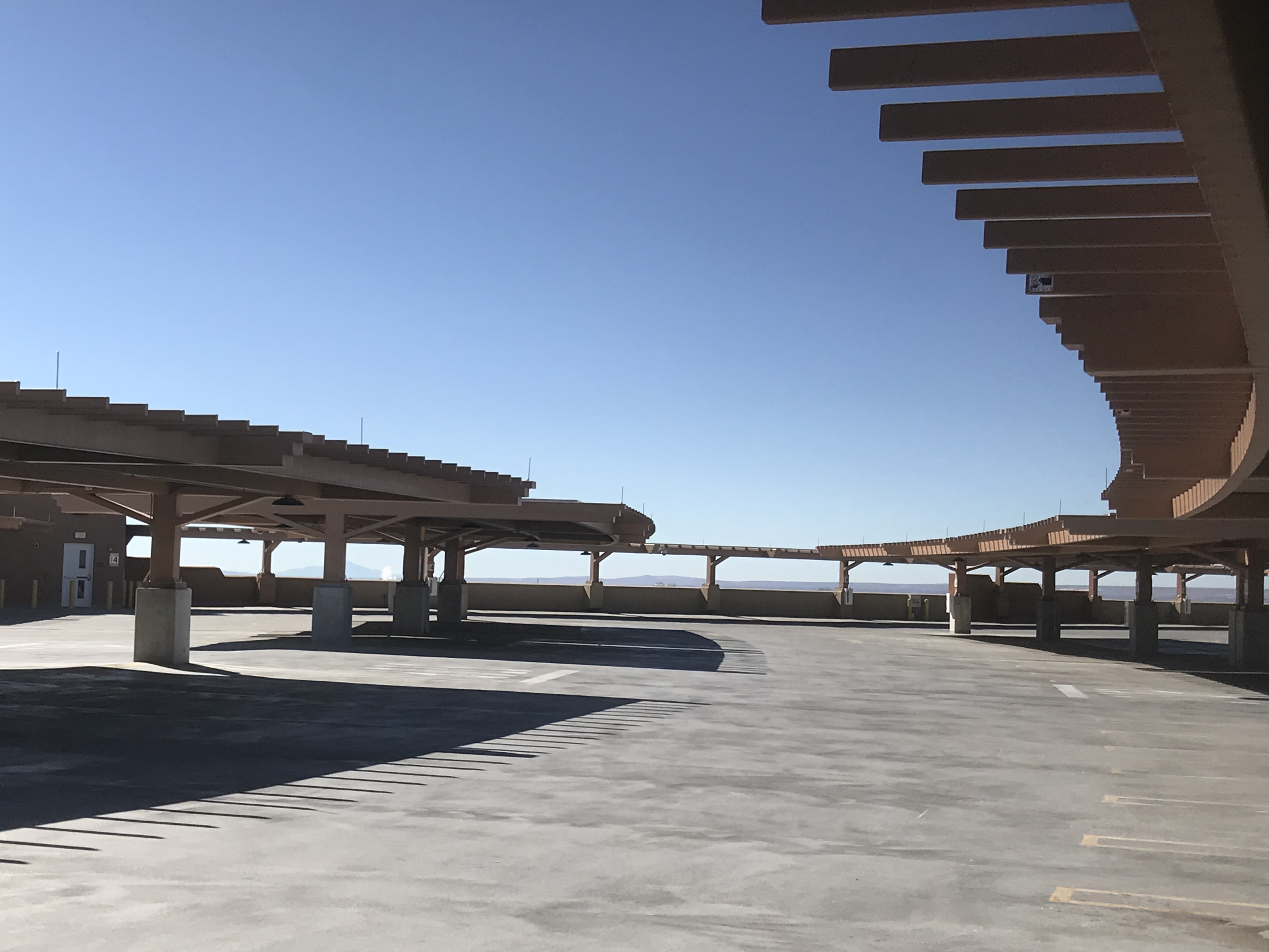 Sandia Parking Garage